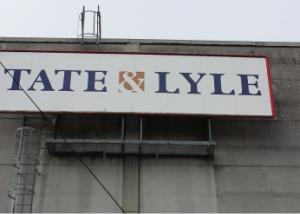 Skylt till Tate & Lyle Kimstad