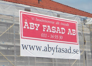 Fasadvepa Åby Fasad