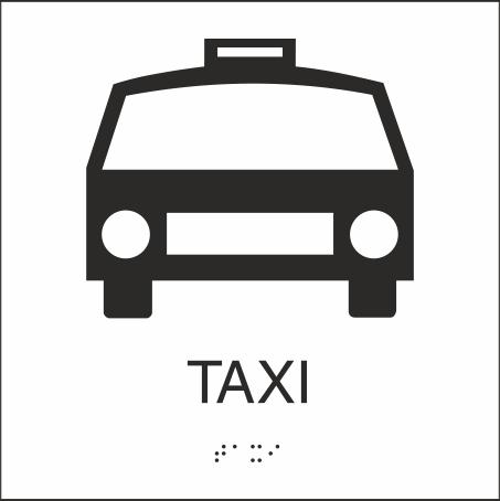 Taxi 150x150mm