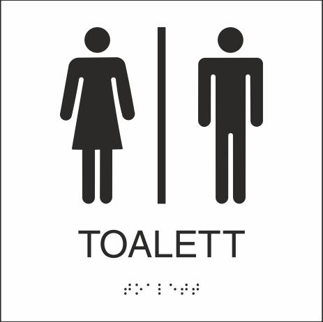 Toalett 150x150mm