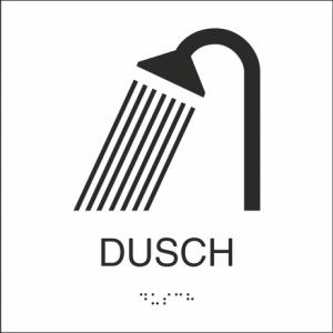 Dusch 150x150mm