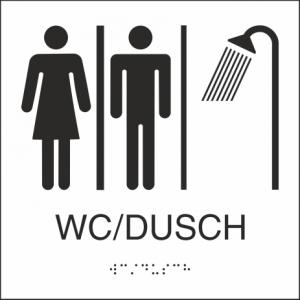 WC/Dusch 150x150mm