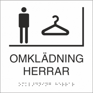 Omklädningherrar 150x150mm